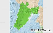 Political Map of Amparafaravola, lighten