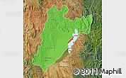 Political Map of Amparafaravola, satellite outside