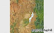 Satellite Map of Amparafaravola