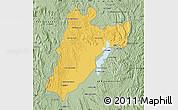 Savanna Style Map of Amparafaravola