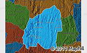 Political Map of Anosibe An-Ala, darken