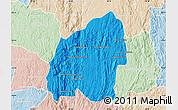Political Map of Anosibe An-Ala, lighten