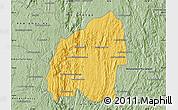 Savanna Style Map of Anosibe An-Ala