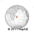 Outline Map of Mahanoro