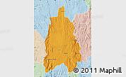 Political Map of Moramanga, lighten