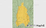 Savanna Style Map of Moramanga