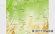 Physical Map of Ankazoabo-Sud