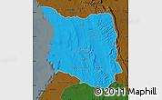 Political Map of Belon-i Tsiribihina, darken