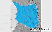Political Map of Belon-i Tsiribihina, desaturated