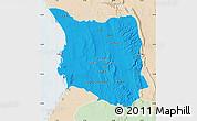 Political Map of Belon-i Tsiribihina, lighten