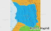 Political Map of Belon-i Tsiribihina
