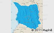 Political Map of Belon-i Tsiribihina, shaded relief outside