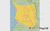 Savanna Style Map of Belon-i Tsiribihina