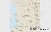Shaded Relief Map of Belon-i Tsiribihina