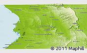 Physical Panoramic Map of Belon-i Tsiribihina