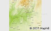Physical 3D Map of Benenitra