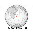 Outline Map of Benenitra