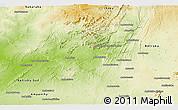 Physical Panoramic Map of Benenitra
