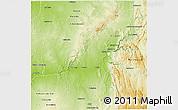 Physical 3D Map of Beroroha
