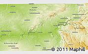 Physical Panoramic Map of Beroroha