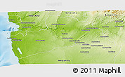 Physical Panoramic Map of Betioky-Sud