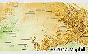 Physical Panoramic Map of Betroka