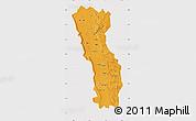 Political Map of Miandrivazo, cropped outside