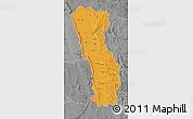 Political Map of Miandrivazo, desaturated