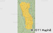 Savanna Style Map of Miandrivazo