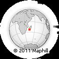 Outline Map of Sakaraha
