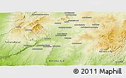 Physical Panoramic Map of Sakaraha
