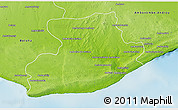 Physical 3D Map of Tsihombe