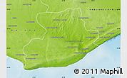 Physical Map of Tsihombe
