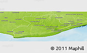 Physical Panoramic Map of Tsihombe