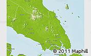 Physical 3D Map of Johor