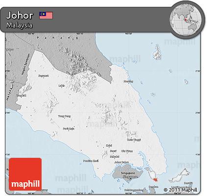 Gray Map of Johor