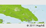 Physical Panoramic Map of Johor