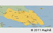 Savanna Style Panoramic Map of Johor