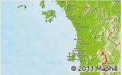 Physical 3D Map of Kedah