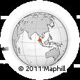 Outline Map of Kedah