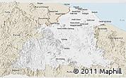 Classic Style Panoramic Map of Kelantan