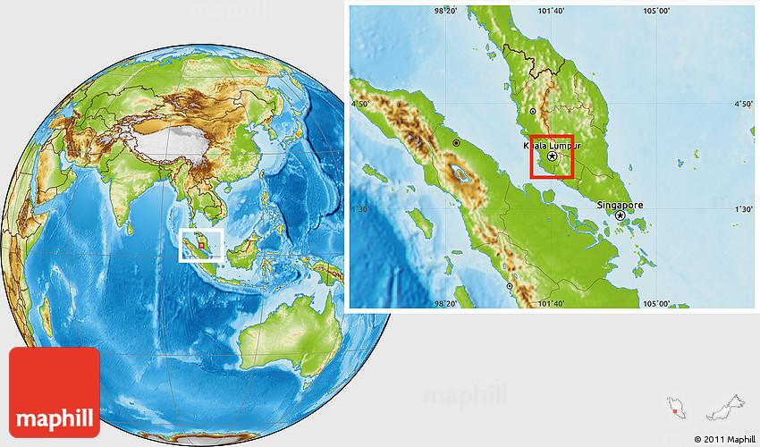 Physical location map of kuala lumpur gumiabroncs Choice Image