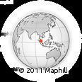 Outline Map of Kuala Lumpur
