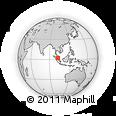Outline Map of Melaka