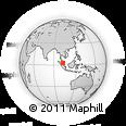Outline Map of Negeri Sembilan
