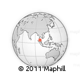 Outline Map of Perlis