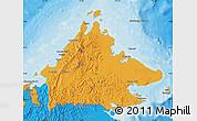 Political Map of Sabah