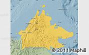 Savanna Style Map of Sabah