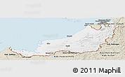 Classic Style Panoramic Map of Sarawak