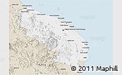 Classic Style Panoramic Map of Terengganu